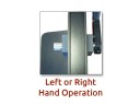 left and right hand operation
